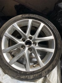 Used 2011 IS250 Lexus rims and tires