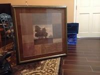 brown wooden framed wall mirror Rancho Cucamonga, 91739