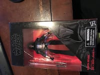 "Collectors Star Wars 6"" Black Series Darth Raven"