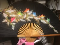 japanese style fan or decorative piece Vancouver