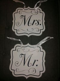 Mr&Mrs Wedding Signs North Vancouver