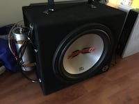 car mtx amp and 12inch mtx thunder sub  Victoria, V9A 2E4