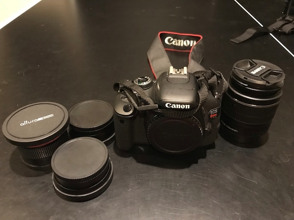 Canon Rebel EOS t3i - Complete Kit 4