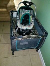 Pack n play and car seat
