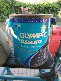 Olympic paint exterior flat -1 gal. Full-Unopened Claremont, 91711