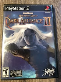 Baldurs Gate Dark Alliance II PS2 Great Condition  Maple Ridge, V2X 3V9