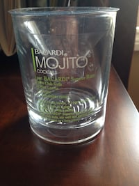 Brand New in box set of 12 MOJITO glasses