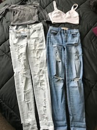Jeans tops and more