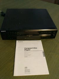 Sony 5-disc CD changer Hollywood, 20636