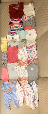New born baby clothes 19 piece mix!