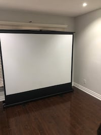Projector and screen Toronto, M9W 6X1
