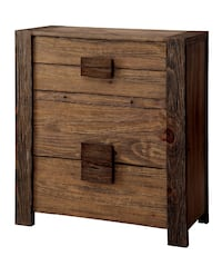 Brand New Aveiro Rustic Natural Tone Wood 4-Drawer Chest by Furniture of America 2272 mi