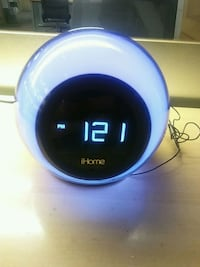 Ihome color changing alarm clock with built in Blu Salt Lake City, 84111