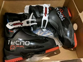 Tecnopro junior ski boots - sz 1 1/2US