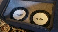 black and gray JL Audio subwoofer Bailey's Crossroads, 22041