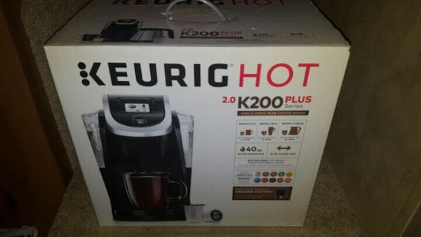 Keurig hot k200 plus, new never opened the