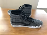 Vans high top shoes size 10 men - grey limited edition version  Vancouver, V6A 3N8
