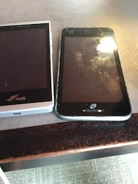 two black and white android smartphones Santa Ana, 92706