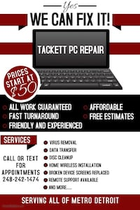 Computer repair Northville