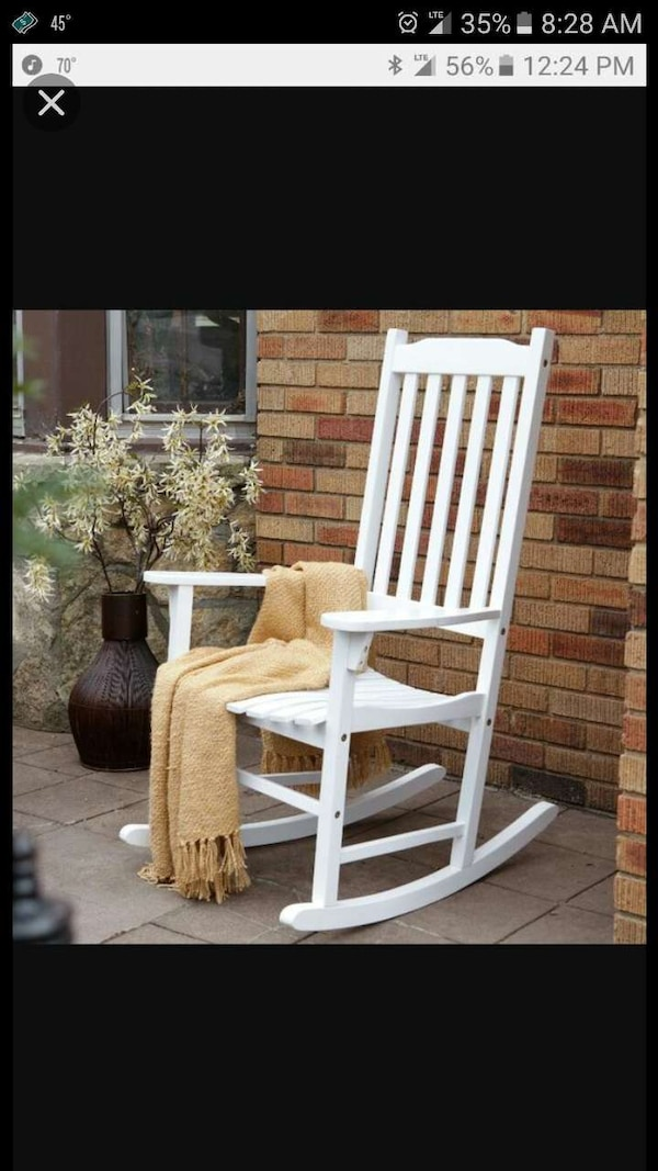 Used Set of two white rocking chairs for sale in Parkton ...