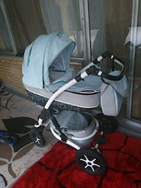 baby's gray and black stroller Toronto, M3C 0J8