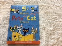5 Minute Pete the Cat stories book Oakville, L6L 4E8