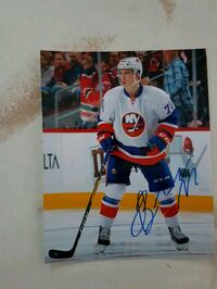 Anthony Beauvillier Autographed 8x10 Photo