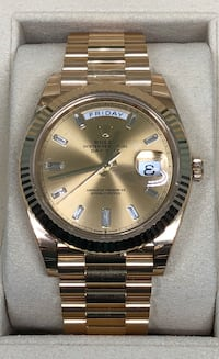 ROLEX Day-Date President all 18k Gold w/ Diamond Dial NEW!  Costa Mesa, 92627