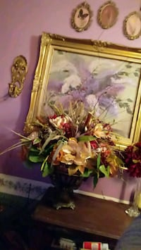 Burgandy, golds and taupe artificial flowers Fort Mitchell, 36856