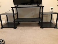 No-Tool Assembly 3-Cube Entertainment Center  Herndon