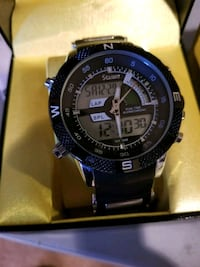 round black Casio digital watch with black strap Prince George's County, 20715
