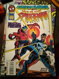 Web of Spiderman comic book