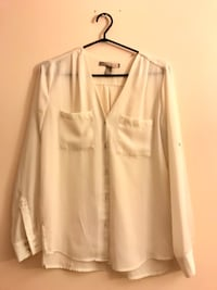Cream chiffon blouse Surrey, V3T 5V2
