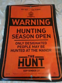 movie poster for the Hunt Vancouver, 98660