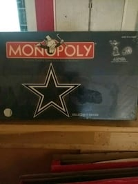 Cowboys Monopoly game