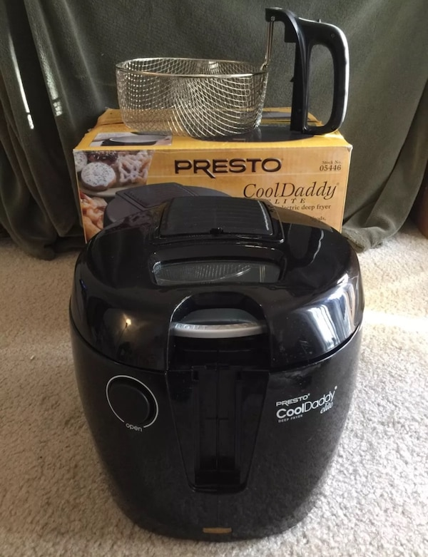 Used Presto Cooldaddy Elite Deep Fryer For Sale In Lacey Letgo