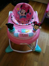 baby's pink and blue Minnie Mouse walker Amarillo