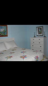 Full size bed, dresser, and nightstand Las Vegas, 89129