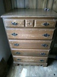 brown wooden 5-drawer chest Tonopah, 89049