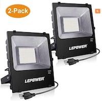 "LEPOWER New Craft 2 Pack 150W LED Flood Lights ""BRAND NEW"" Chantilly, 20151"
