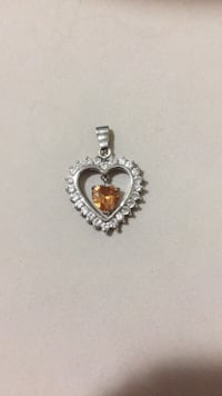 Iced out Heart pendant Chesapeake, 23324