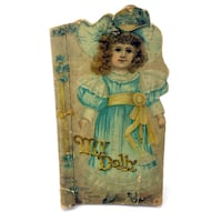 My Dolly Book Father Tuck's Doll Baby Series Antique Ephemera Vintage 1895 Kids Port Colborne