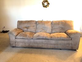 Brown Oversized Couch