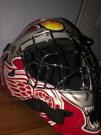 Red Wings Itech Goalie Helmet Pickering