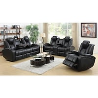 Esquire  Home Theater Leather Recliner Set Charlotte, 28216