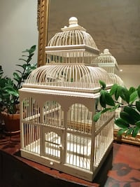 White wood bird cage Laval, H7G 1X5