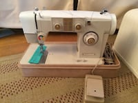 white Singer electric sewing machine Falls Church, 22042