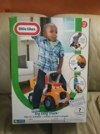 Little Tikes Big Dog Truck box