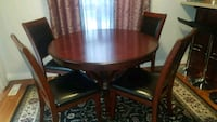 Set of dining table with a coffee table  Edmonton, T5Y 3M3