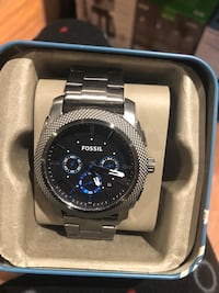 Fossil Men's 45mm Machine Chronograph Watch